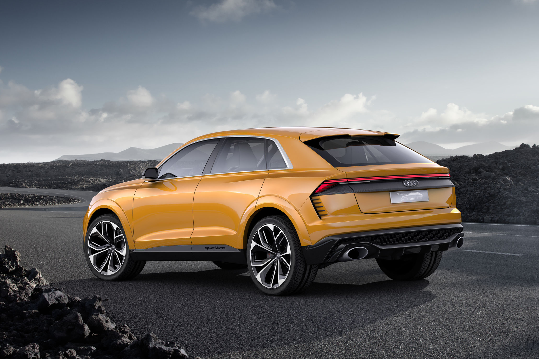audi deux nouveaux suv bient t en production actualit. Black Bedroom Furniture Sets. Home Design Ideas