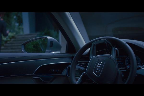 la nouvelle audi a8 pr sent e barcelone actualit automobile motorlegend. Black Bedroom Furniture Sets. Home Design Ideas