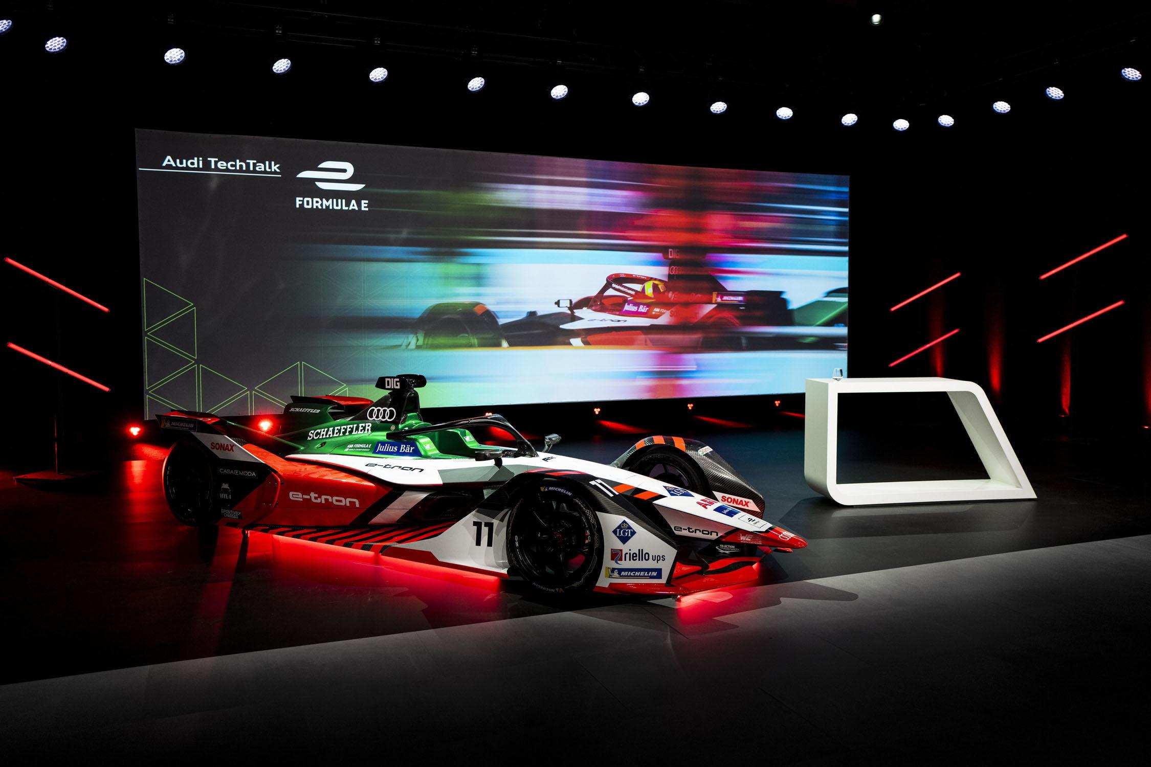 Audi délaisse la Formula E pour le Dakar et le LMDh!