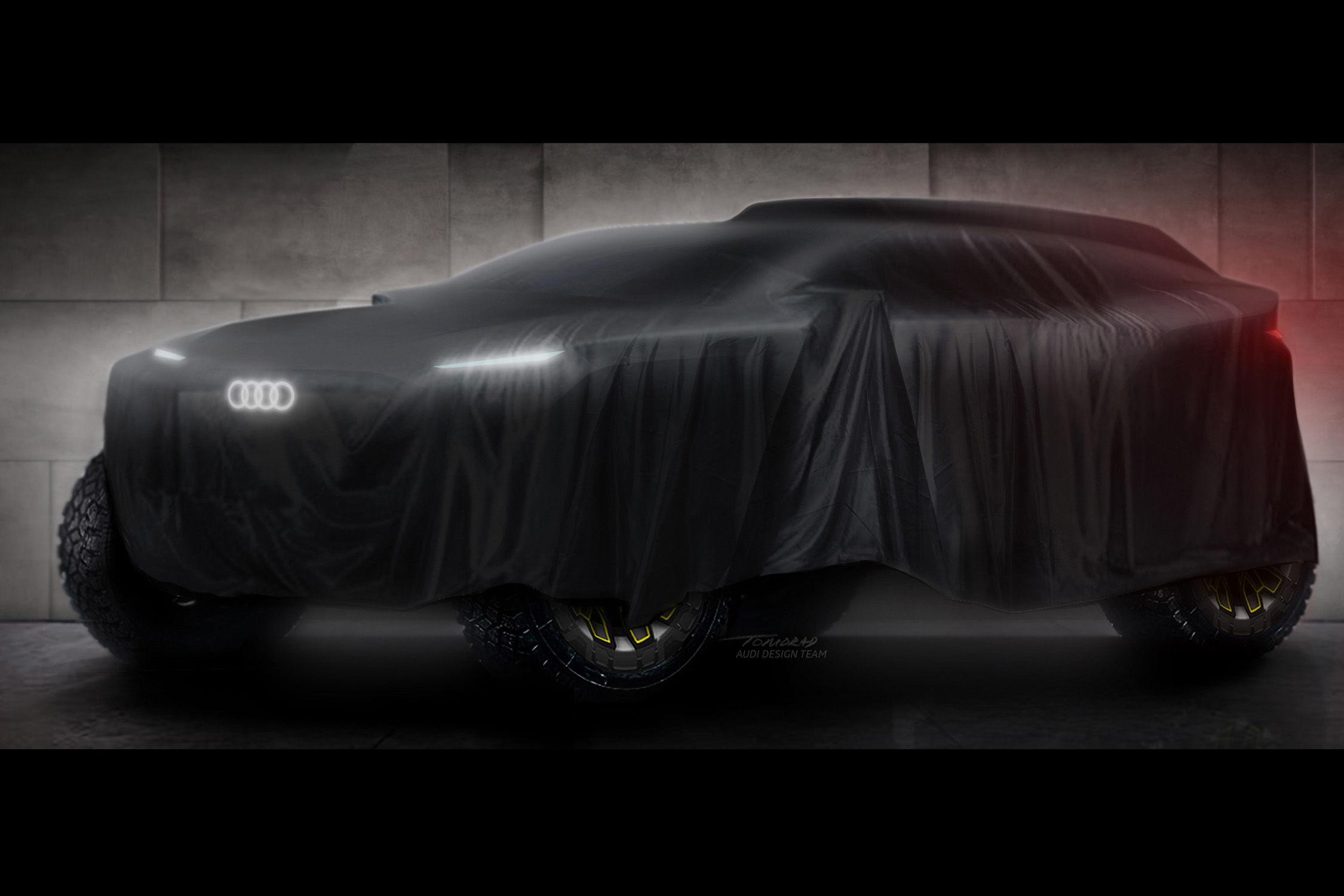 Audi au départ du Rallye Dakar 2022 avec un prototype électrique
