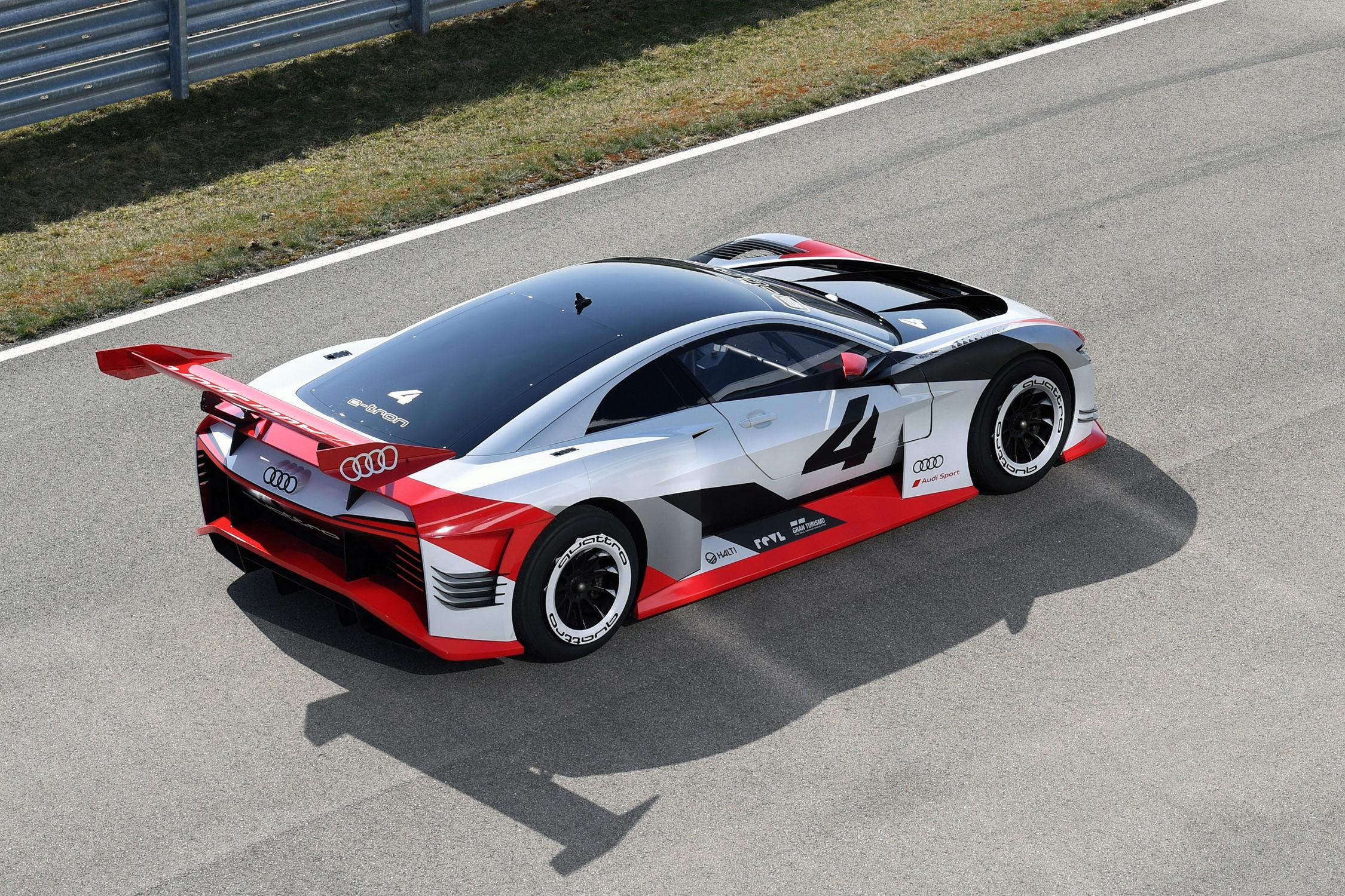 Audi e-tron Vision GT : l'électrique en jogging