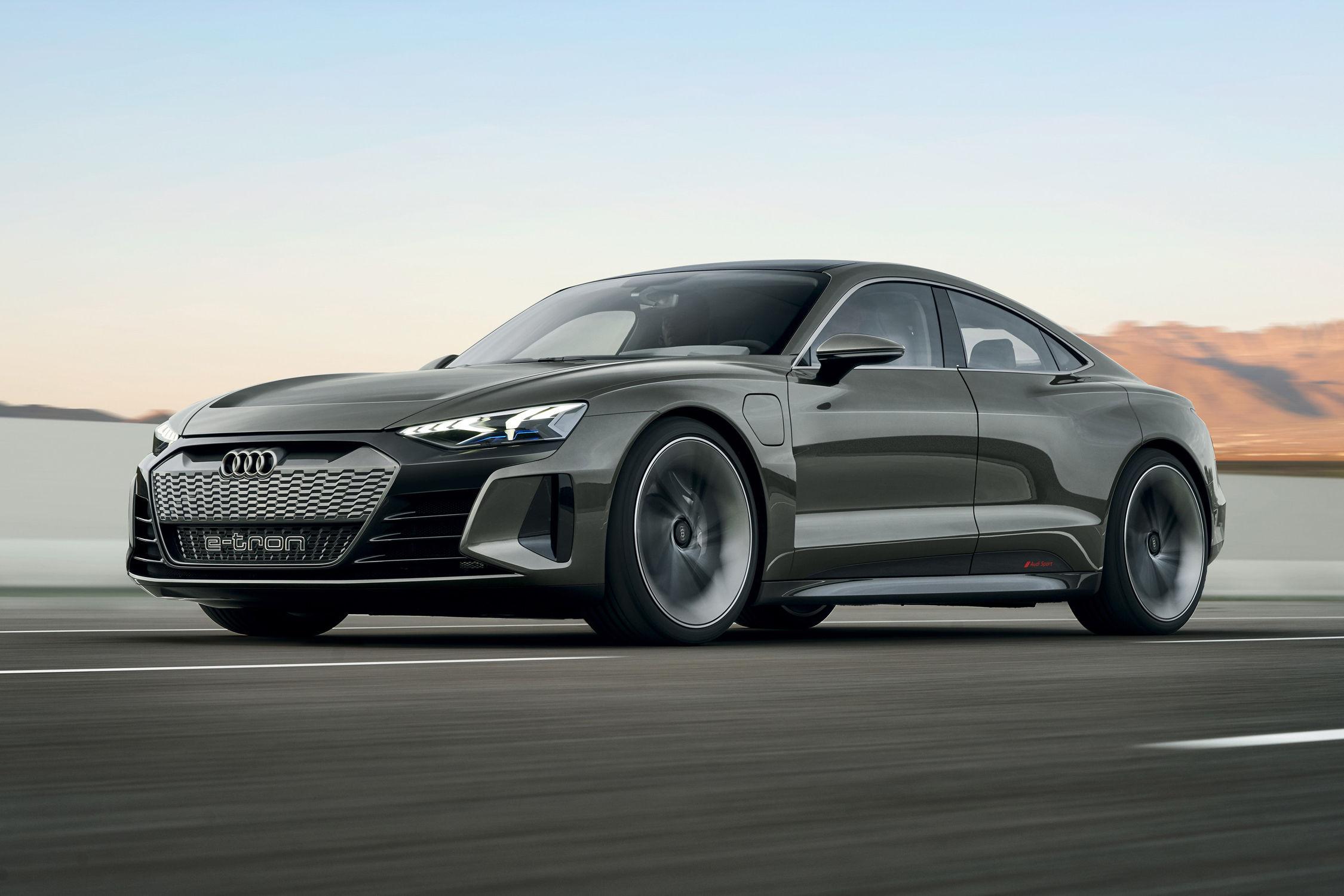 Audi e-tron GT : premier aperçu en images