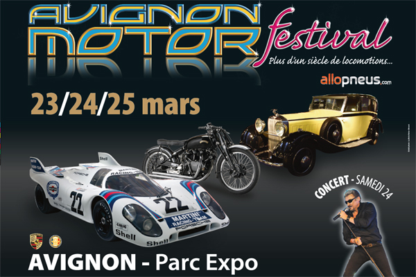 avignon motor festival 2018 le programme actualit automobile motorlegend. Black Bedroom Furniture Sets. Home Design Ideas