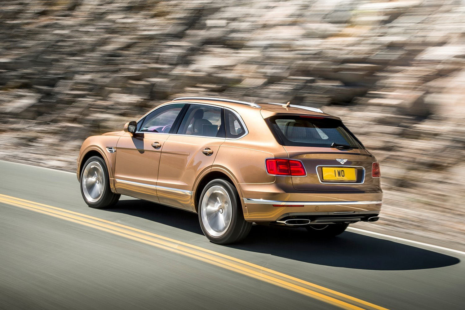 Bentley Bentayga V8 — Rapport