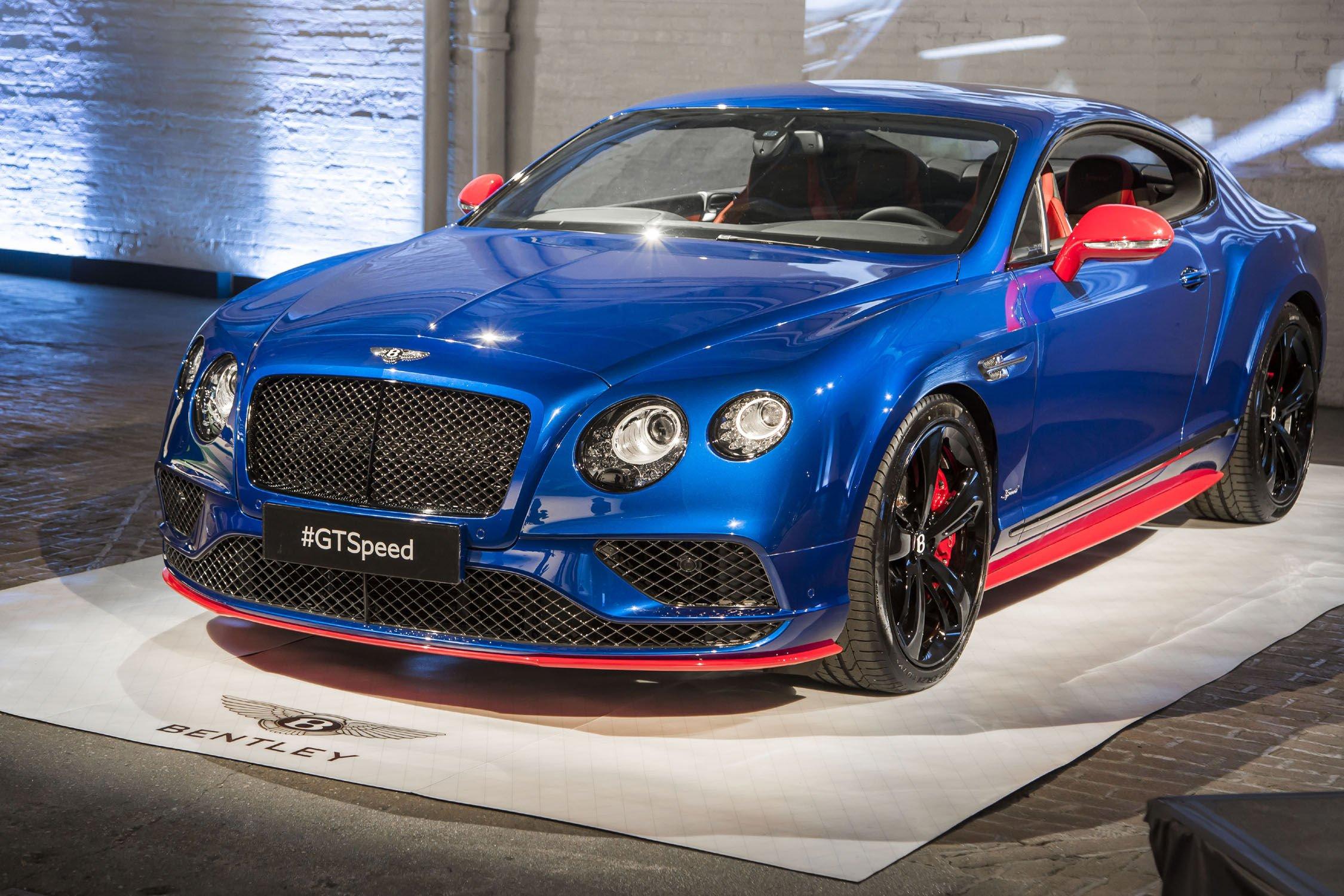 GT Speed et GT Speed cabriolet, sont toutes deux également proposées