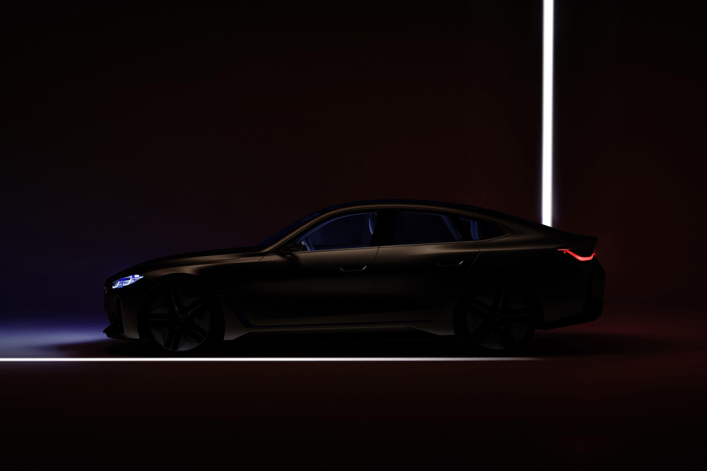 BMW Concept i4 : dernier teaser avant présentation - actualité automobile - Motorlegend