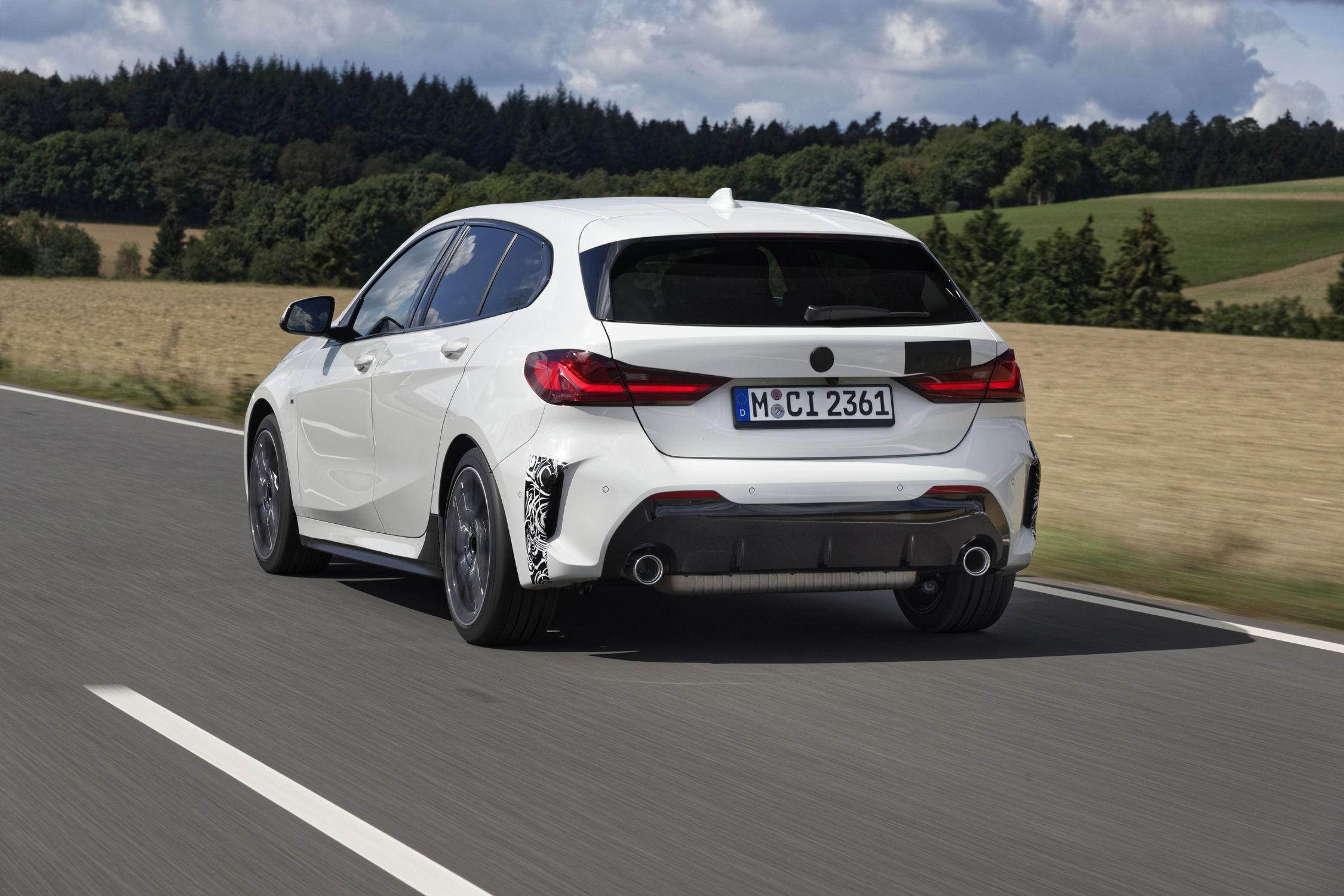 La BMW 128ti en essais sur le Ring