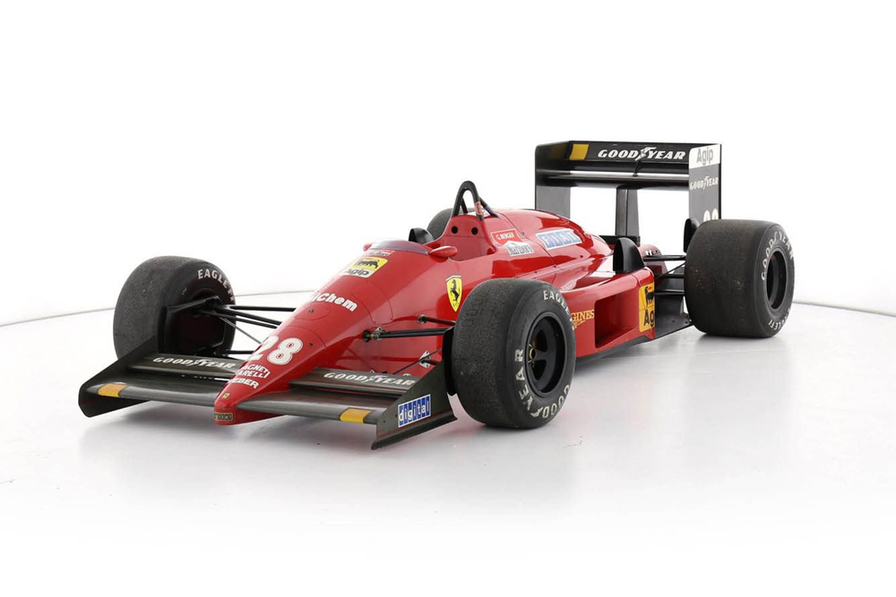 bonhams monoplace ferrari f1 87 actualit automobile motorlegend. Black Bedroom Furniture Sets. Home Design Ideas