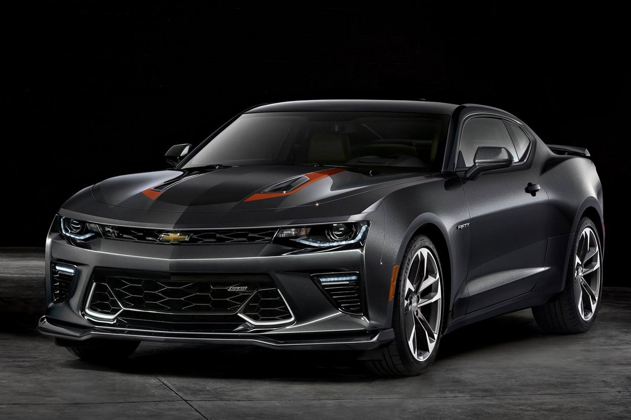 chevrolet camaro 50th anniversary edition actualit automobile motorlegend. Black Bedroom Furniture Sets. Home Design Ideas