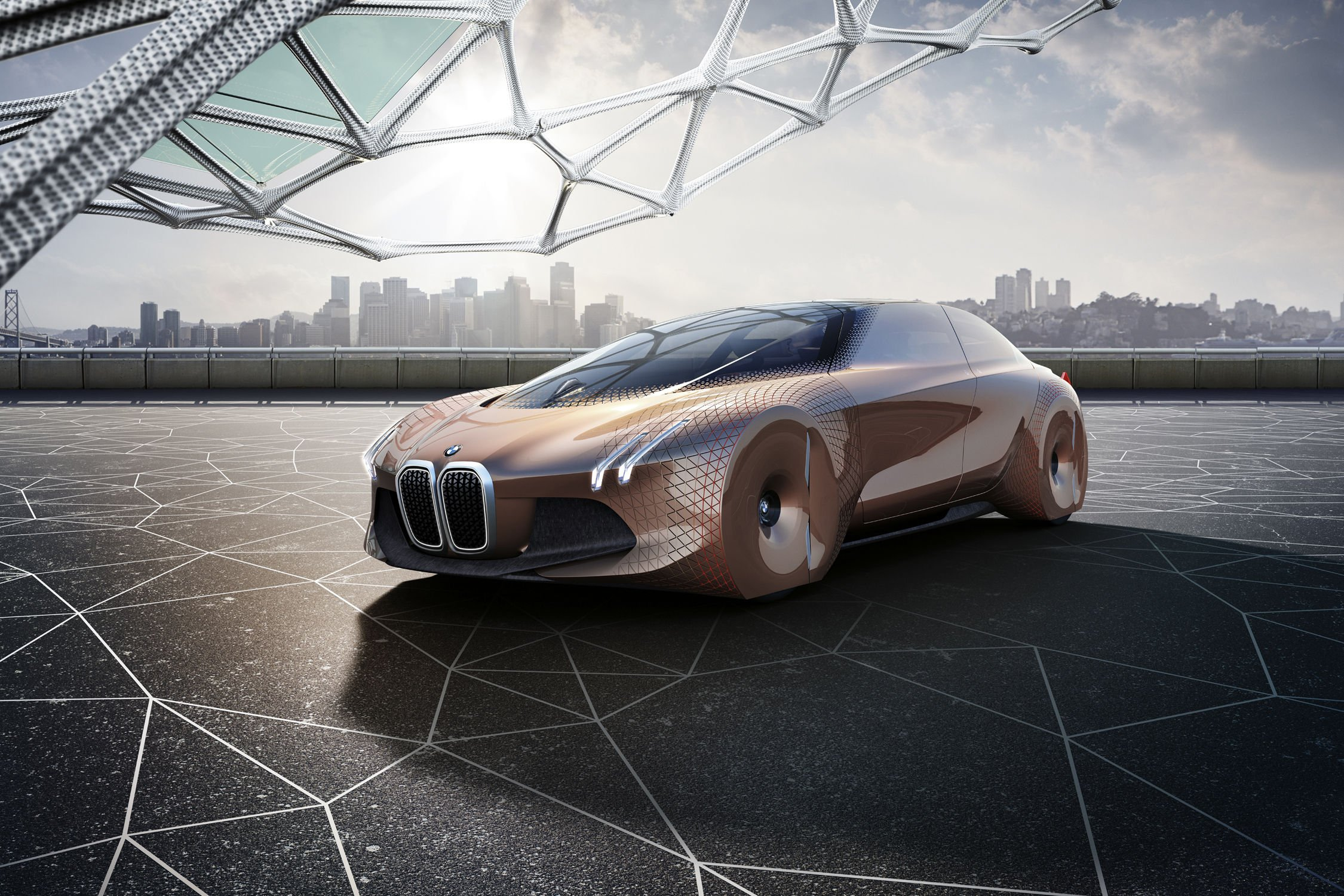 concept bmw vision next 100 actualit automobile motorlegend. Black Bedroom Furniture Sets. Home Design Ideas