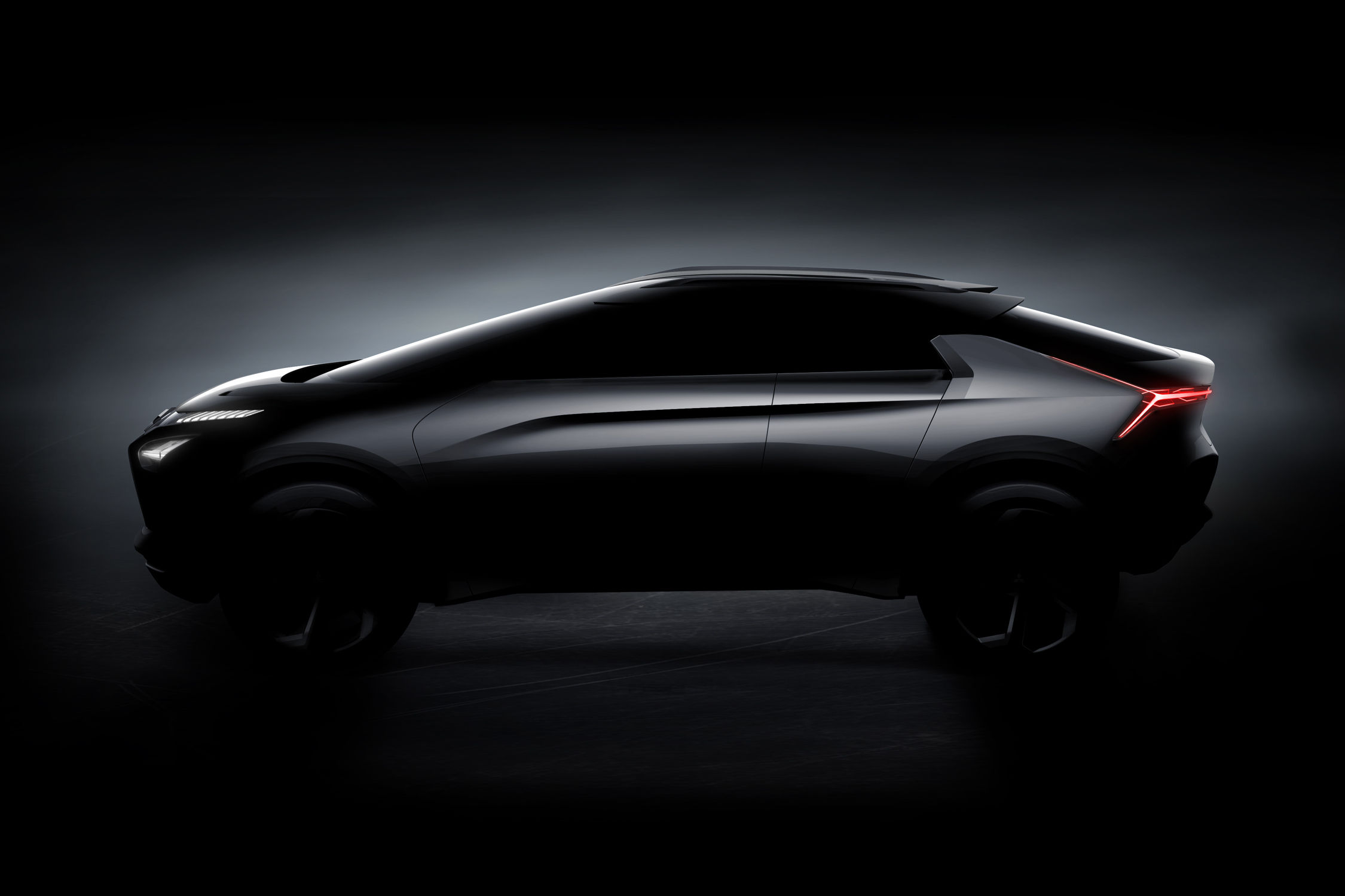Mitsubishi e-Evolution Concept : conduite augmentée