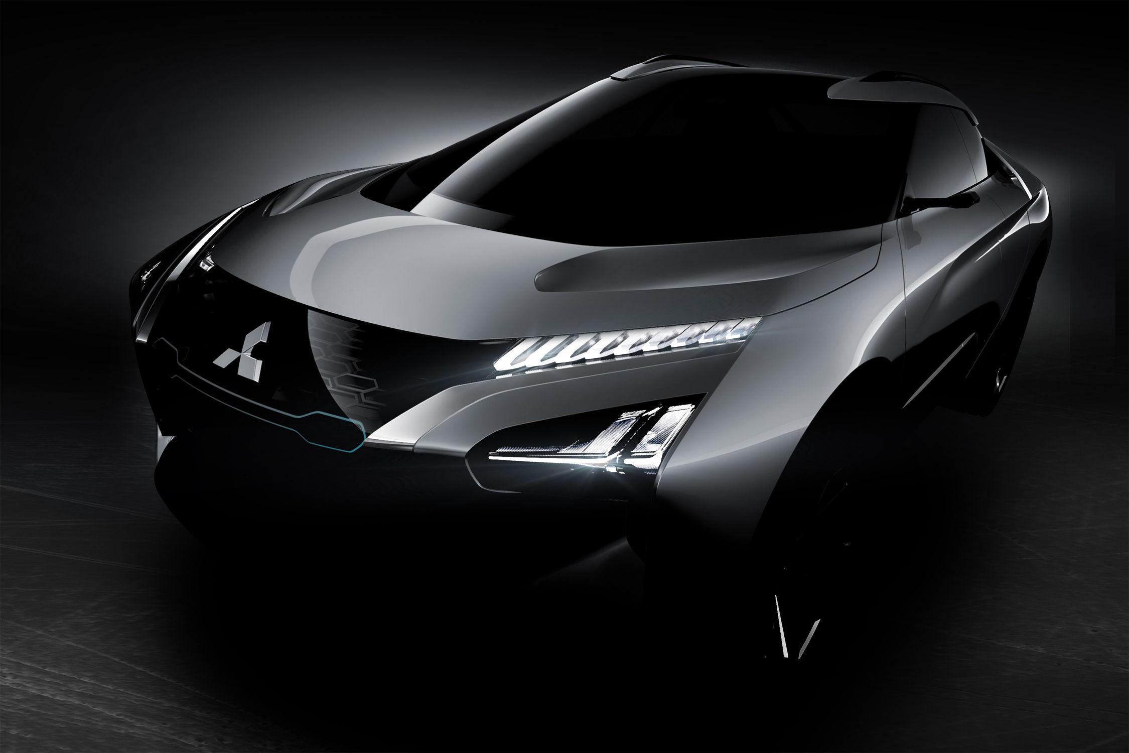 Mitsubishi e-Evolution Concept : trois moteurs électriques pour le SUV sportif