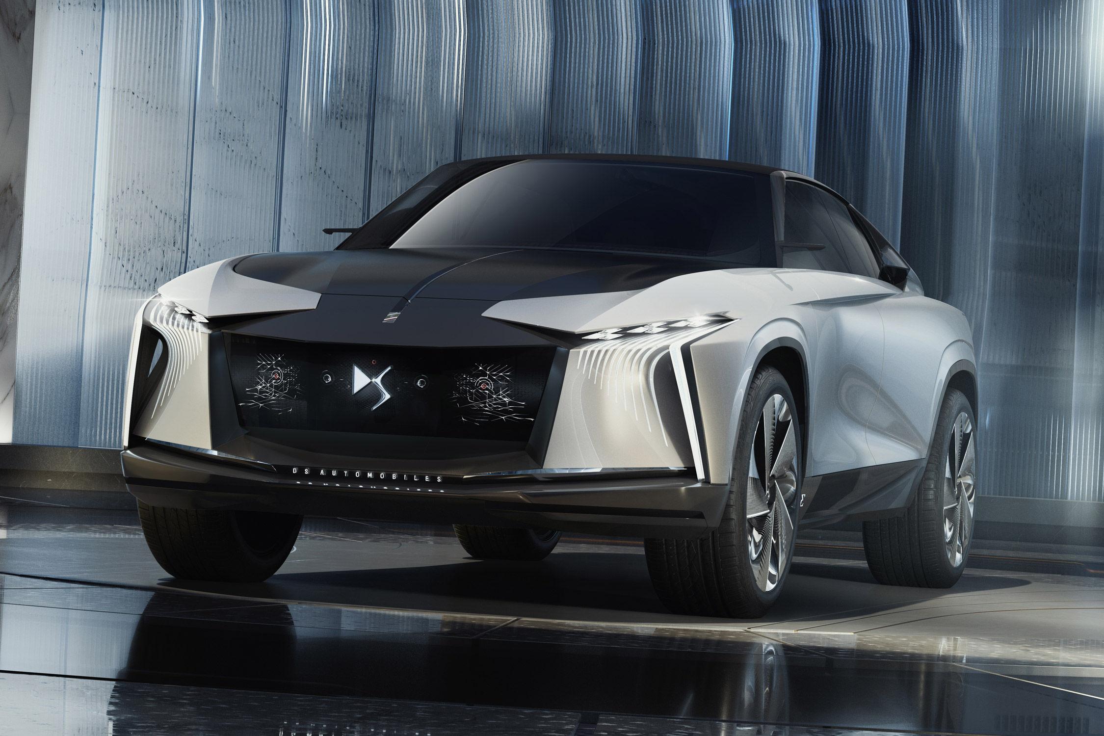 Les photos du nouveau concept de SUV signé DS