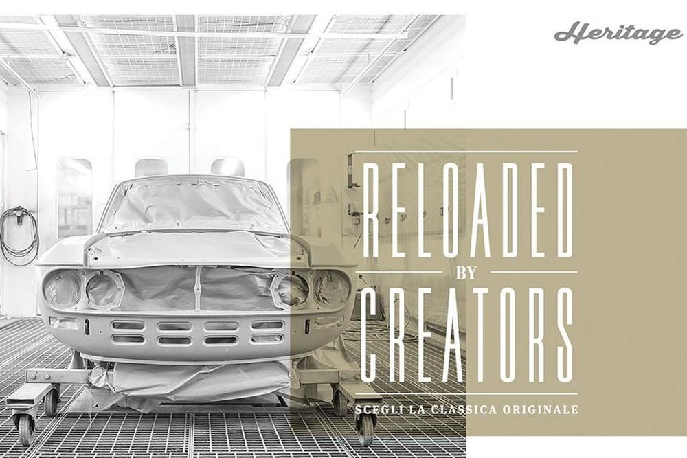FCA Heritage lance son service Reloaded by Creators