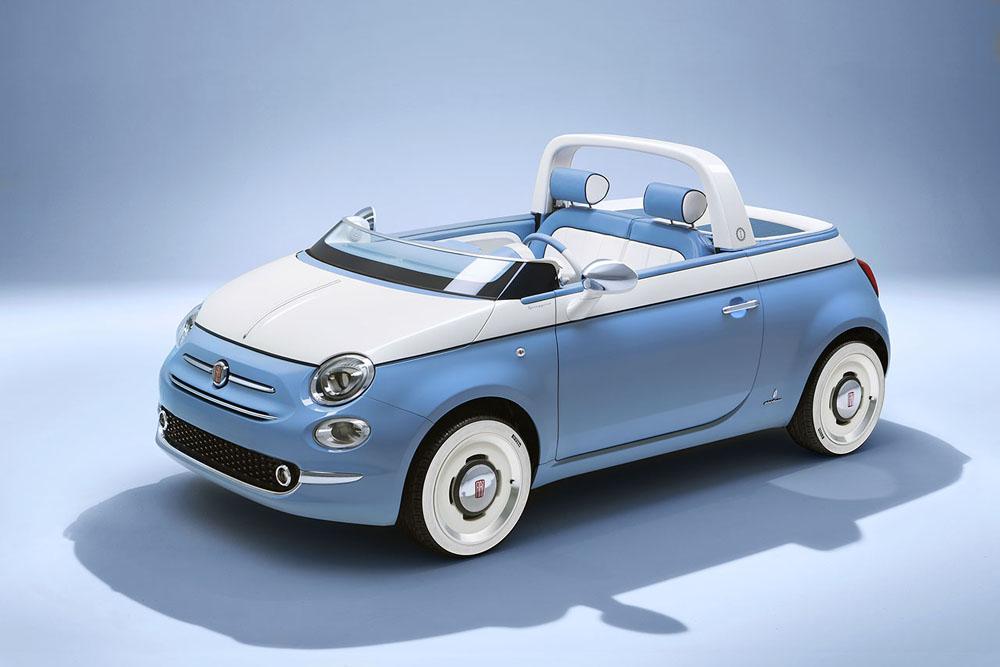 60 me anniversaire de la fiat 500 spiaggina actualit automobile motorlegend. Black Bedroom Furniture Sets. Home Design Ideas