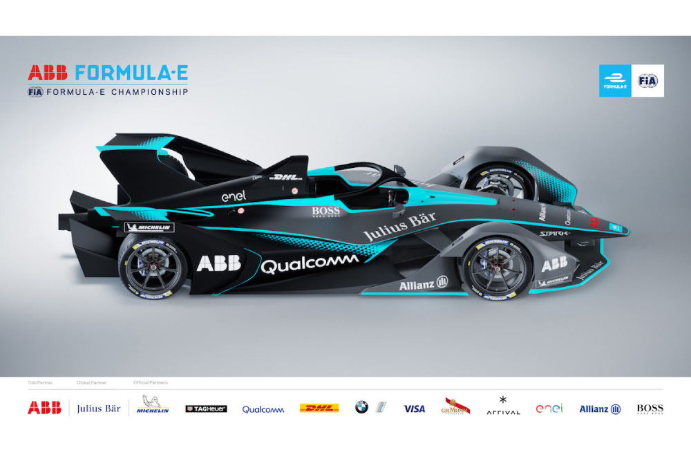 La nouvelle Formule E au look futuriste dévoilée
