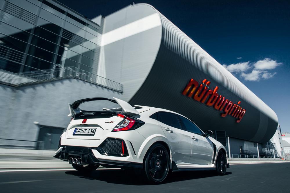 Honda Civic Type R reprend le record du Nürburgring