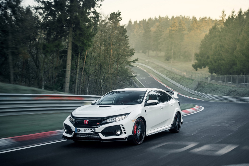 Honda Civic Type R reprend le record du Nürburgring