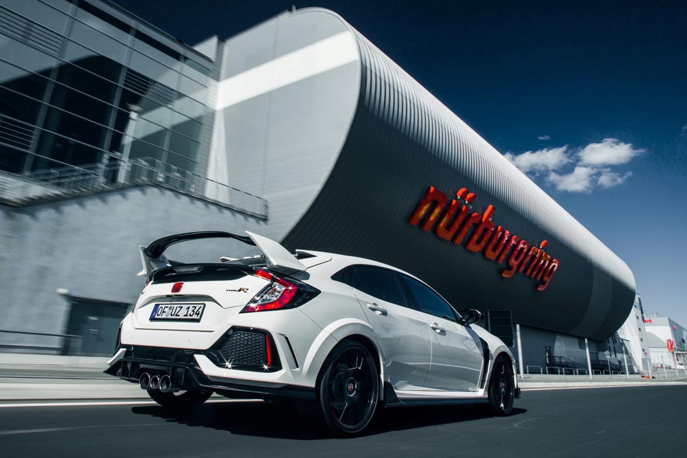 Honda Civic Type R (2018) : chasse aux records !
