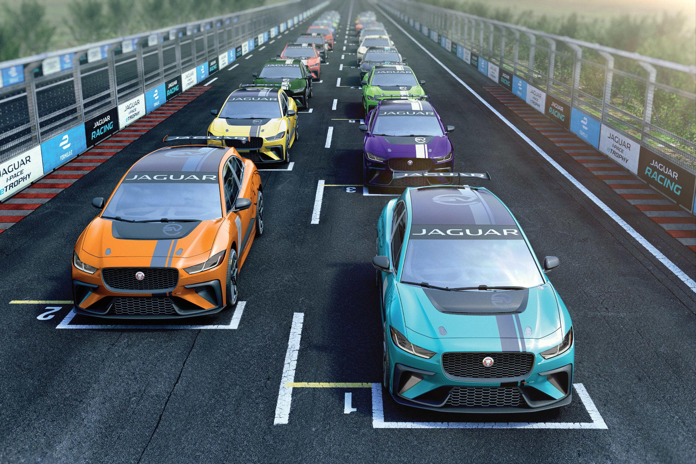 Jaguar va lancer l'I-Pace eTrophy en support de la Formule E