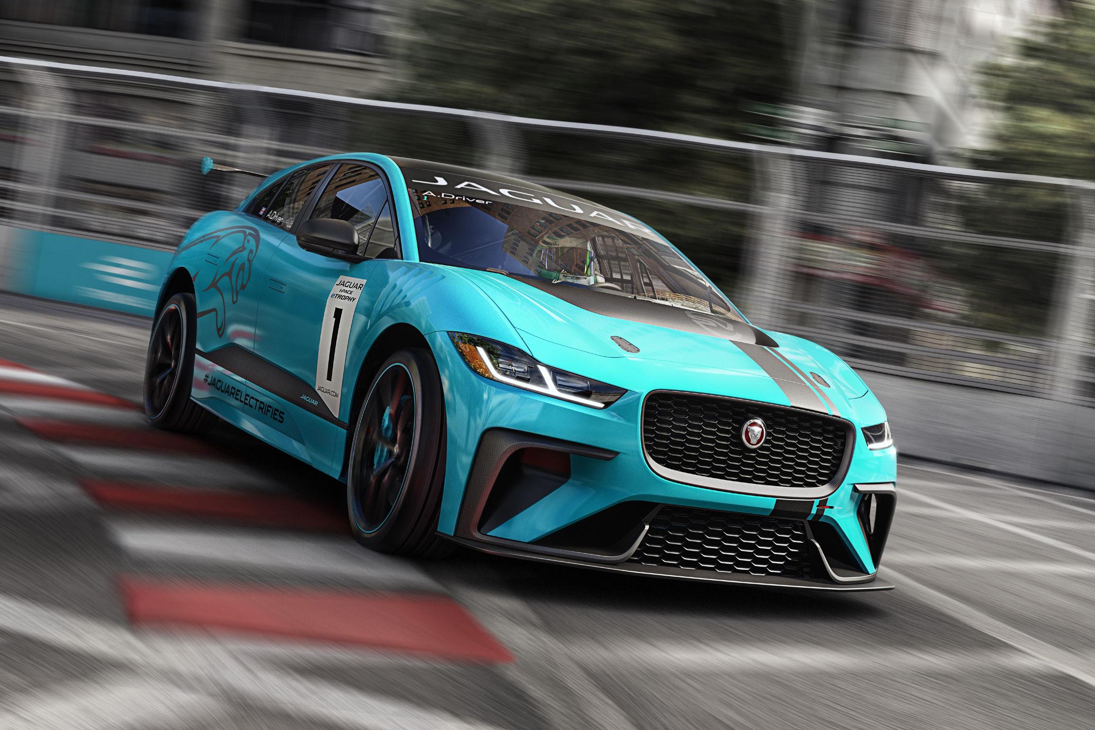 Jaguar I-Pace eTrophy. La I-Pace investit les circuits
