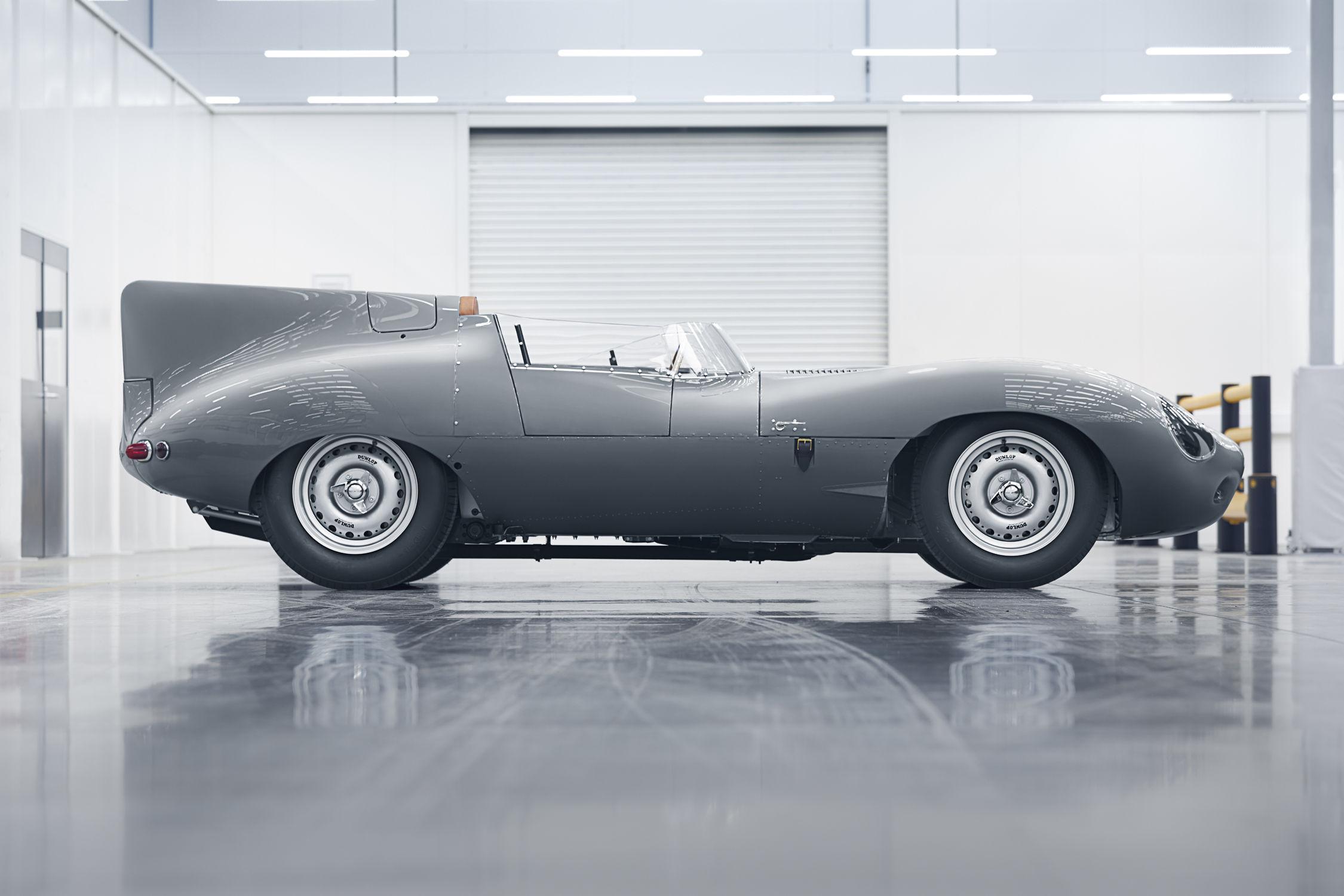 La renaissance d'une reine — Jaguar Type-D