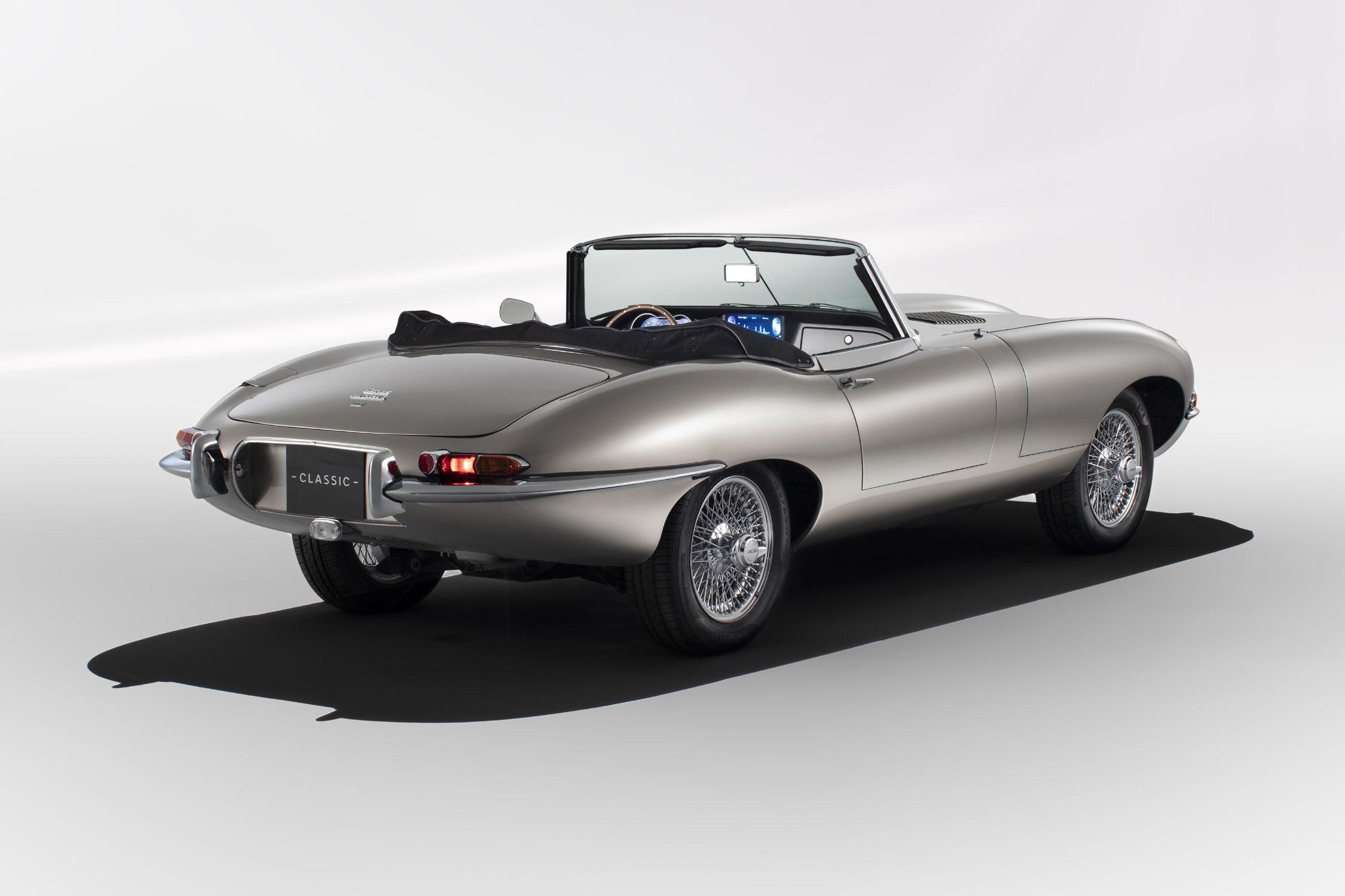 jaguar classic va produire des type e lectriques actualit automobile motorlegend. Black Bedroom Furniture Sets. Home Design Ideas