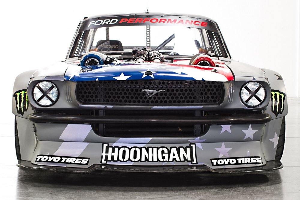 ken block d voile sa ford mustang hoonicorn v2 actualit automobile motorlegend. Black Bedroom Furniture Sets. Home Design Ideas