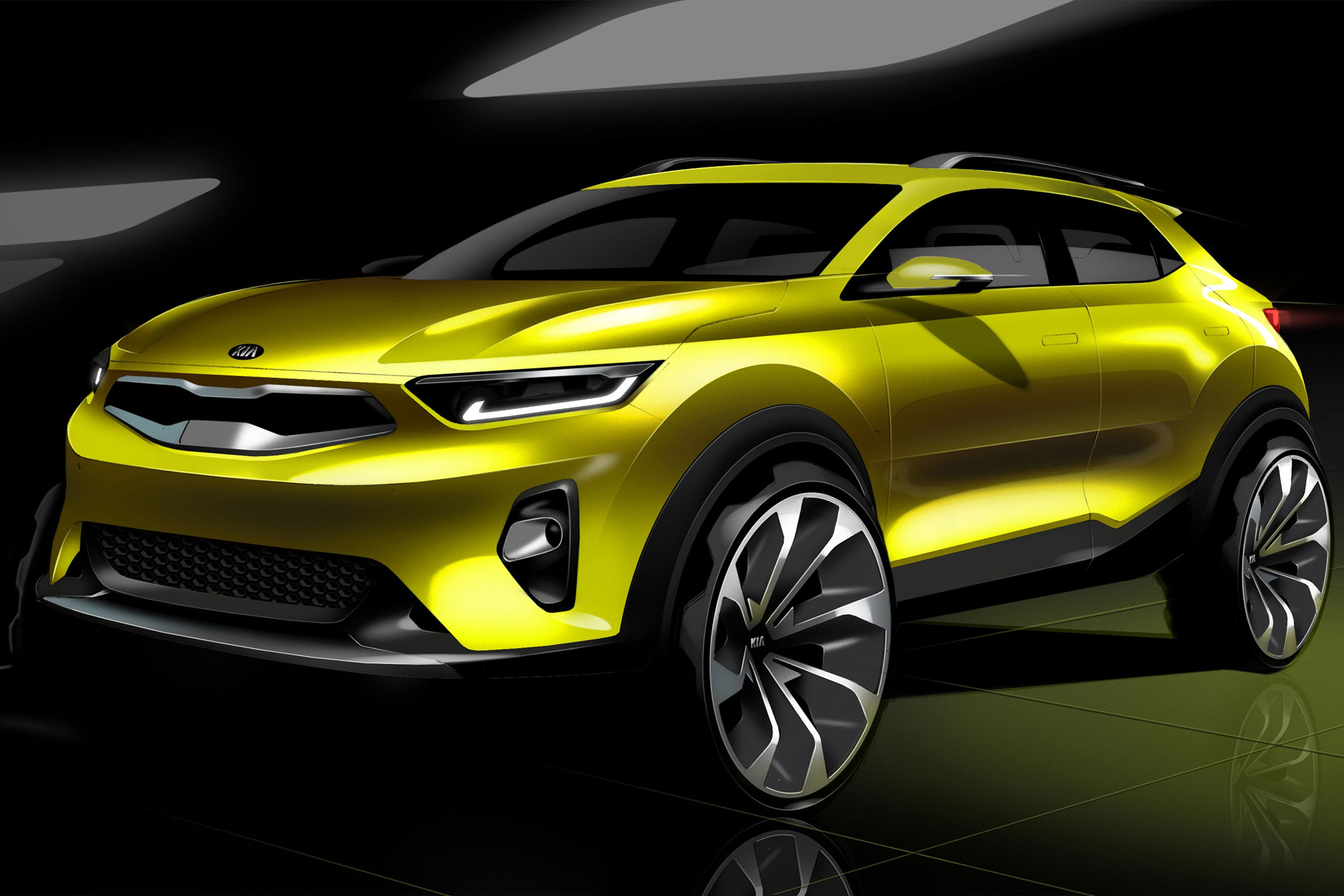 crossover kia stonic premi res images actualit automobile motorlegend. Black Bedroom Furniture Sets. Home Design Ideas