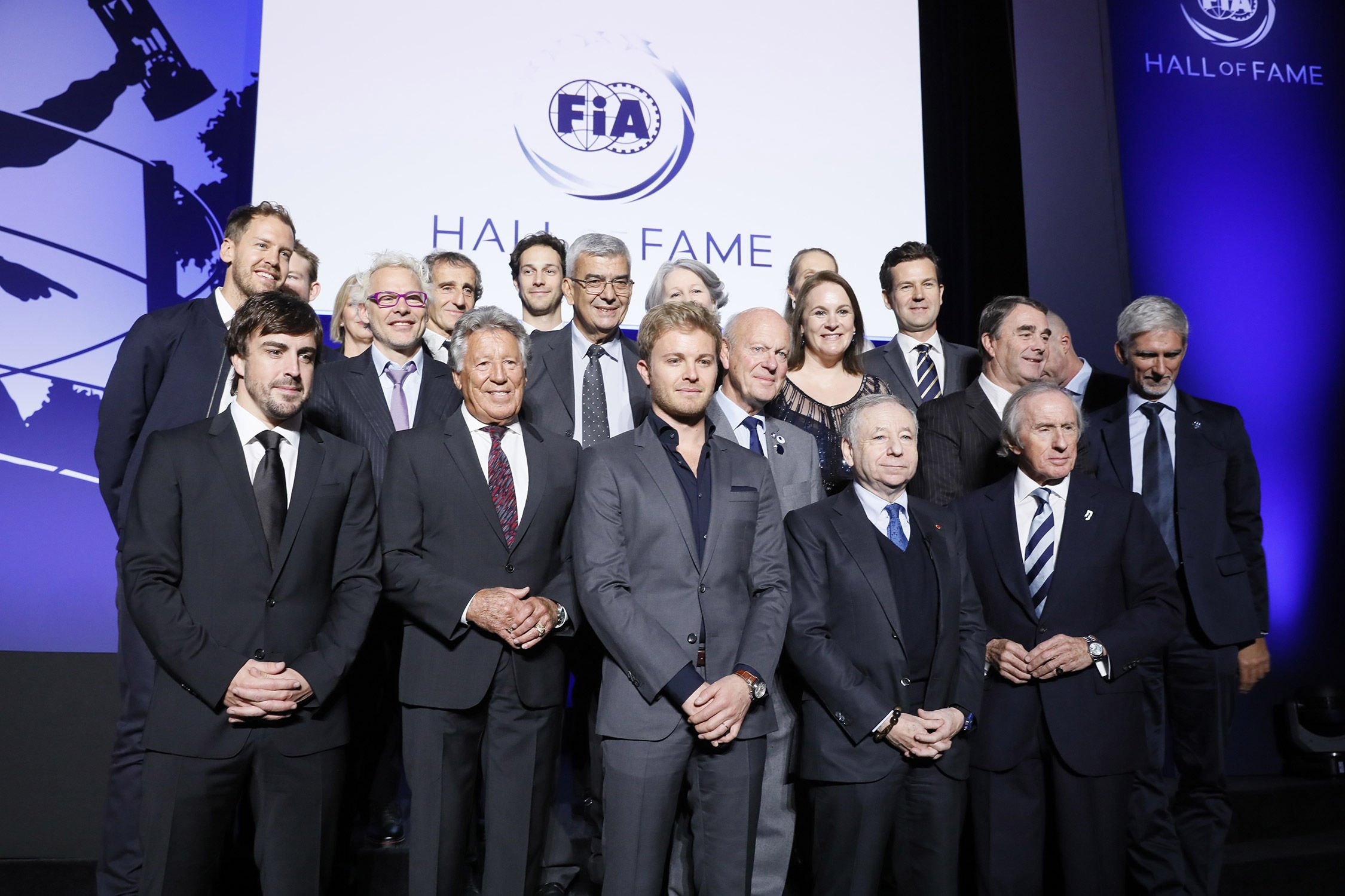 La FIA inaugure son Hall of Fame