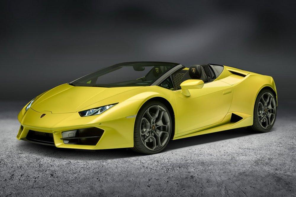 Lamborghini annonce l'arrivée de la Huracan Spyder RWD
