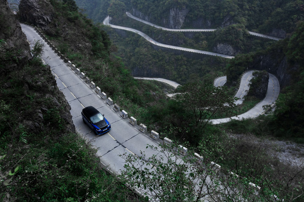 Le Range Rover Sport décroche un chrono record en Chine