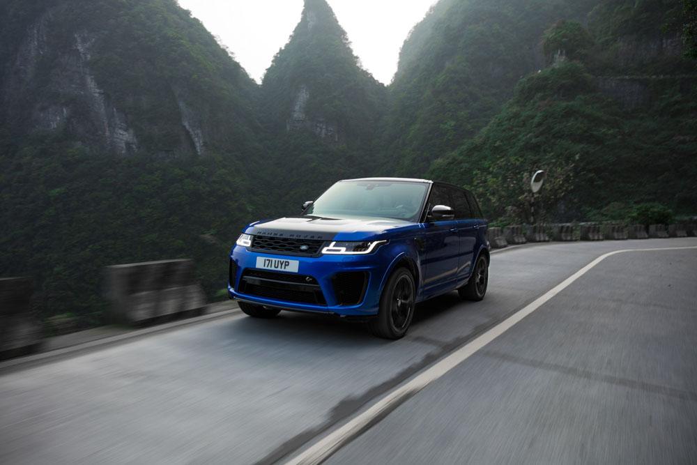 Land Rover fracasse un record détenu par Ferrari