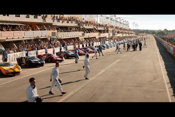 Ciné : Christian Bale métamorphosé dans le trailer de Le Mans 66