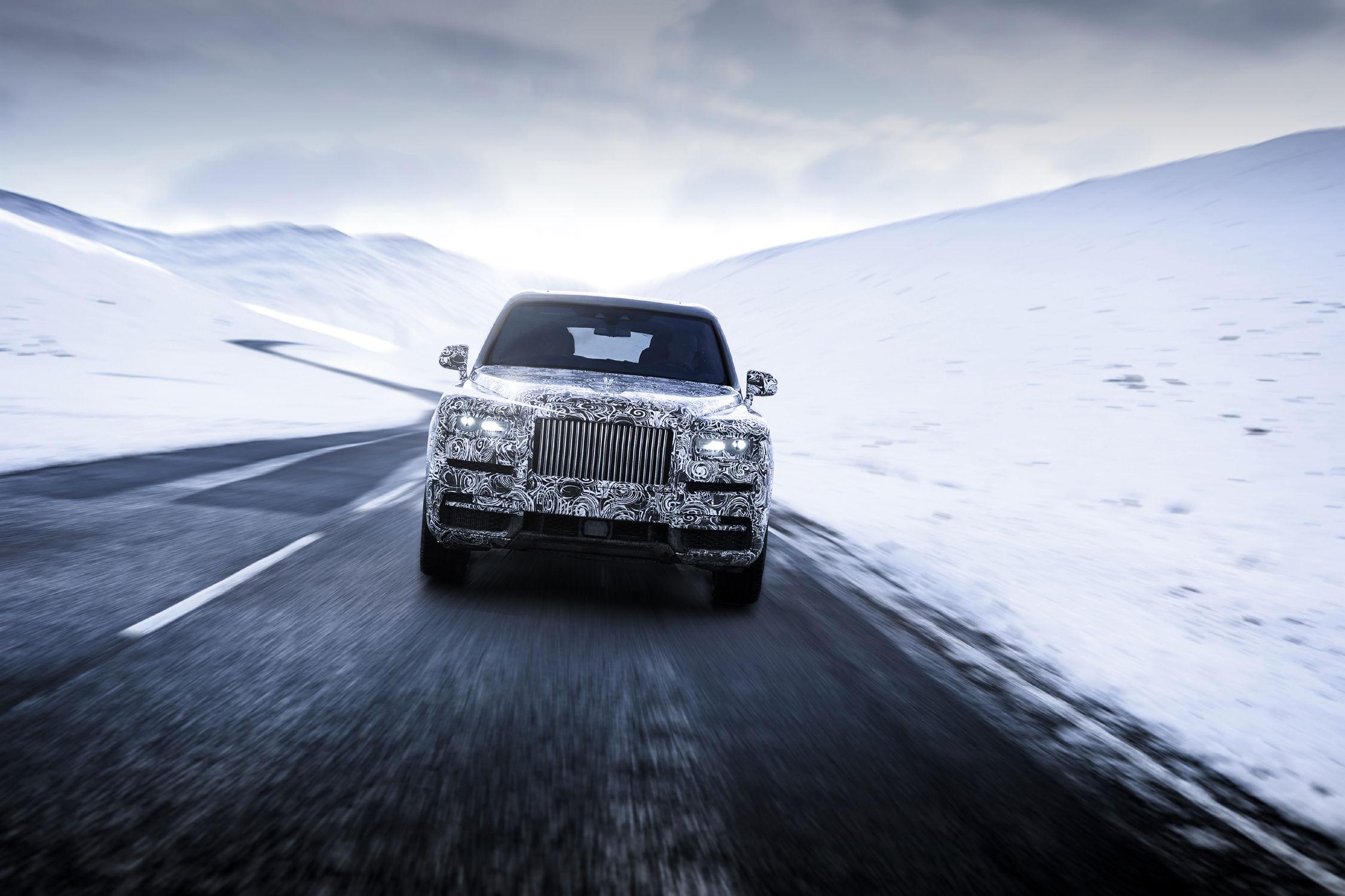 Le SUV s'appellera bien Cullinan — Rolls-Royce