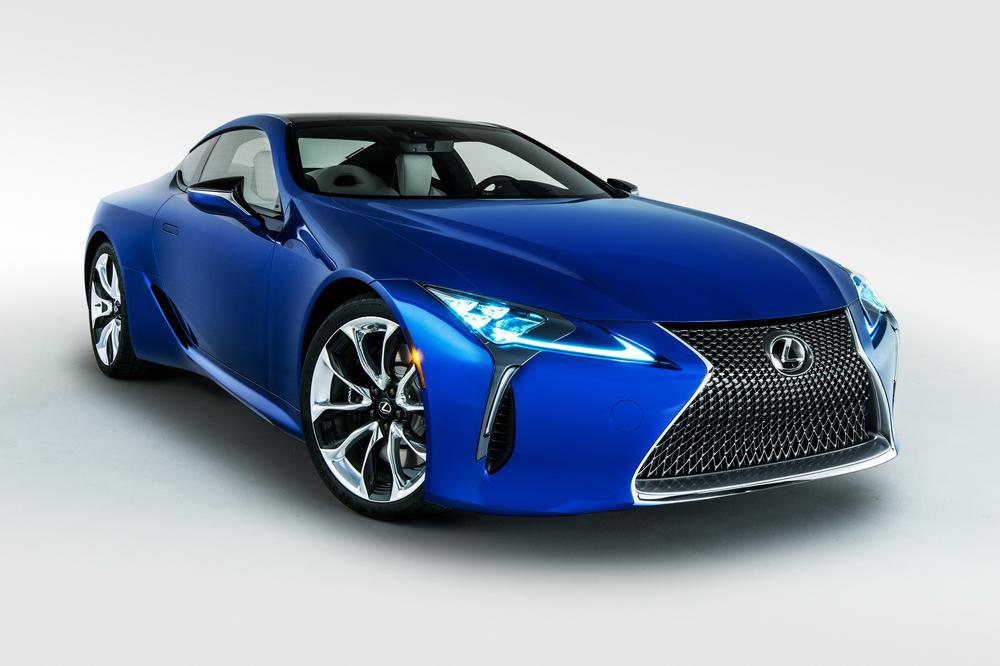 SEMA : Black Panther Inspired Lexus LC - actualité ...