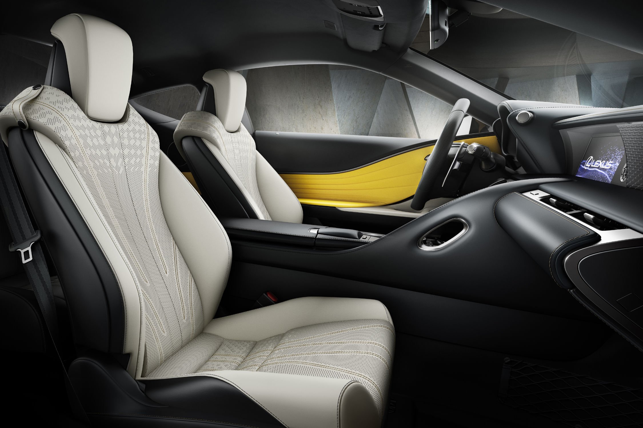 Lexus Lc Yellow Edition Solaire Actualite Automobile Motorlegend
