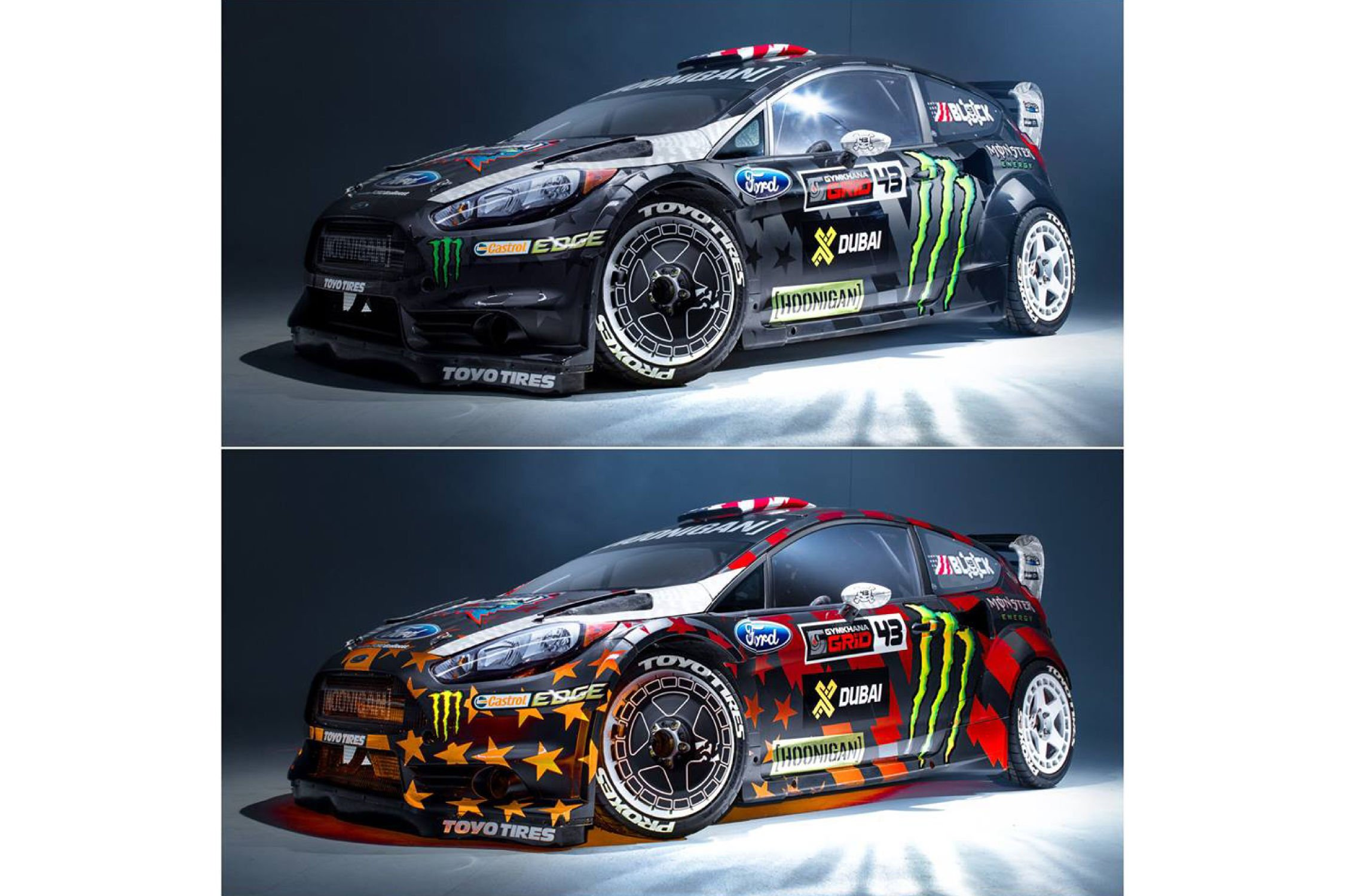 tonnante livr e pour la fiesta st rx43 de ken block. Black Bedroom Furniture Sets. Home Design Ideas