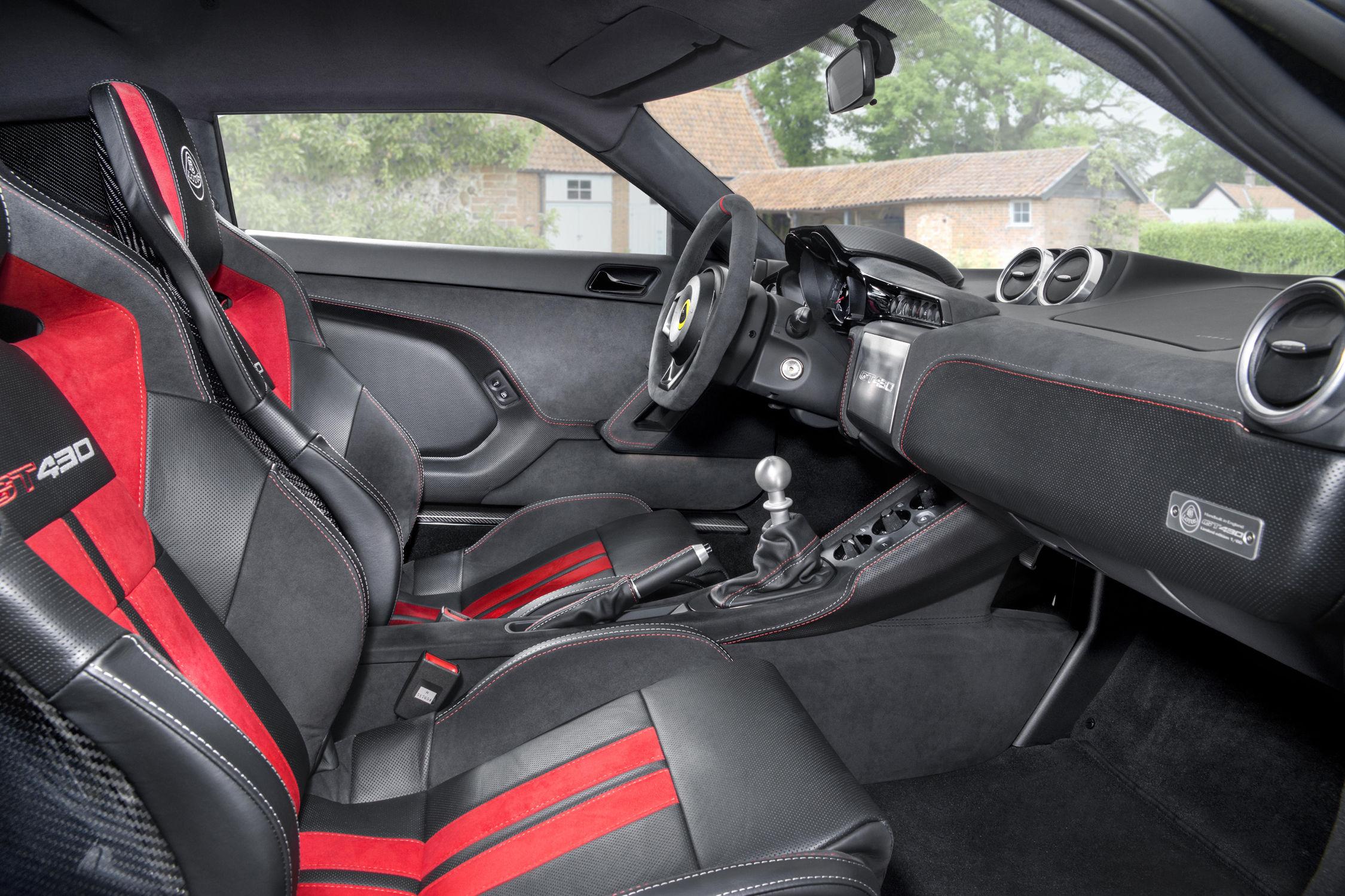 Lotus lance l'Evora GT430