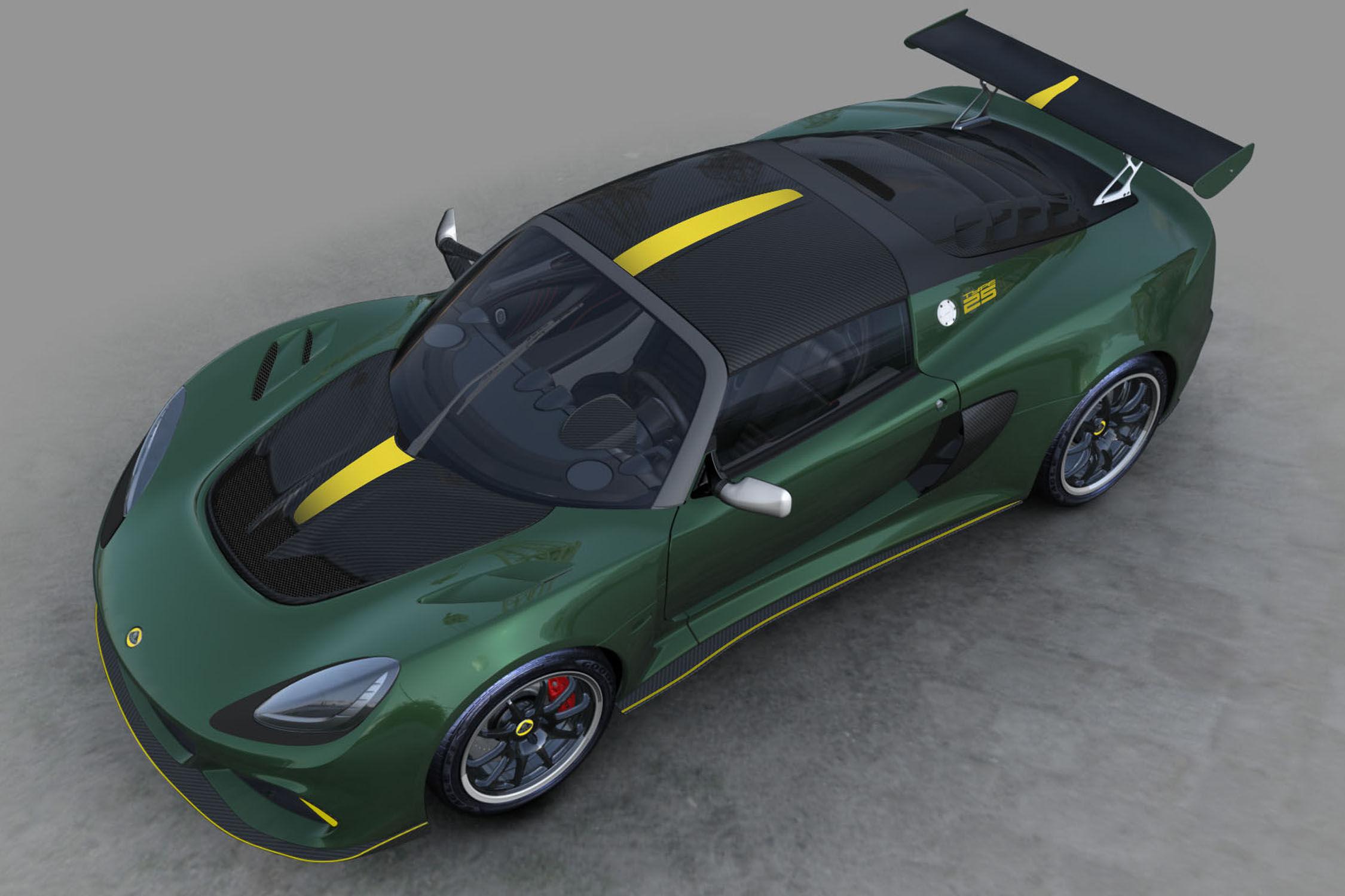 Une Lotus Exige Cup en hommage à la F1 Type 25