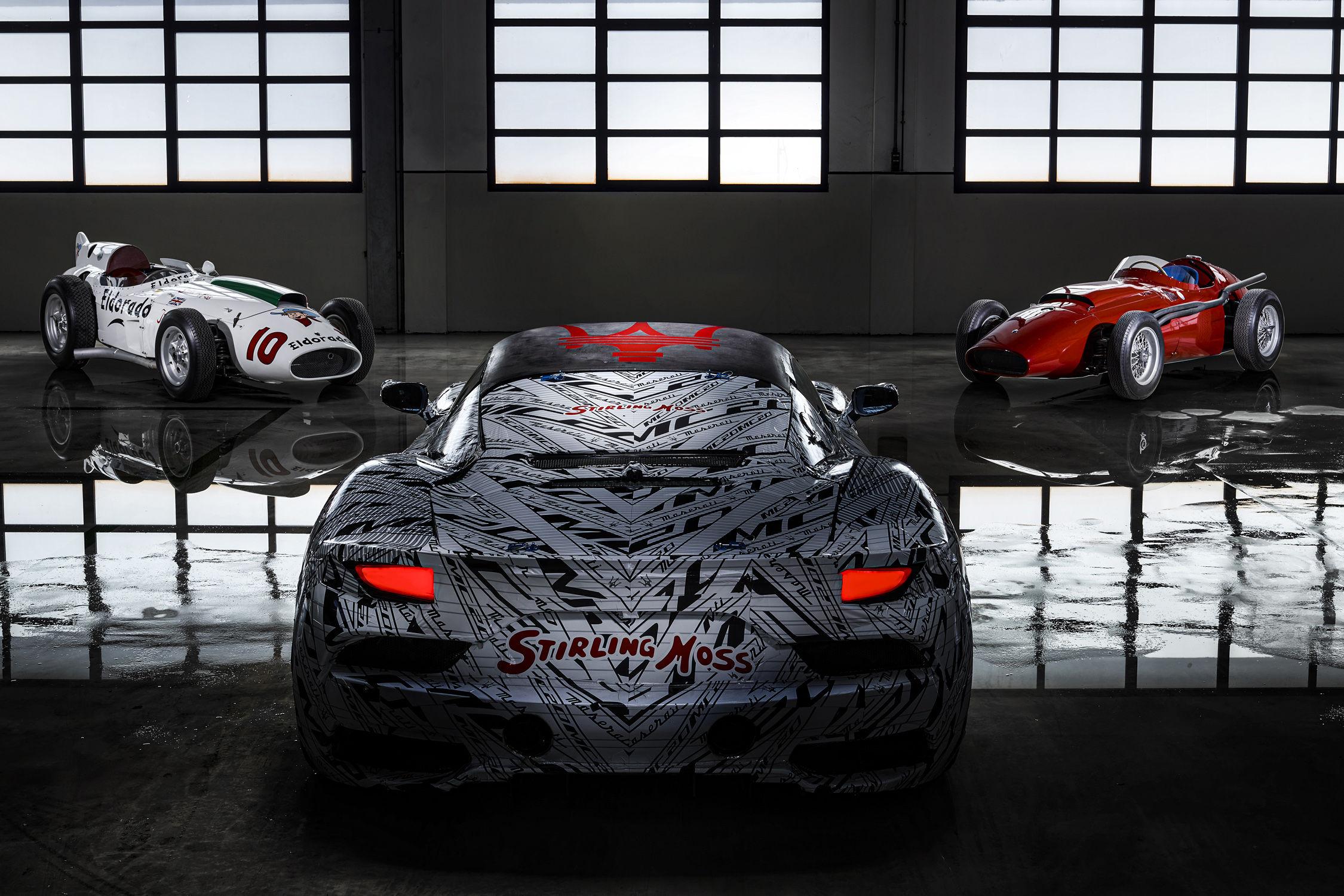 Les Maserati Eldorado prototype MC20 et 250F