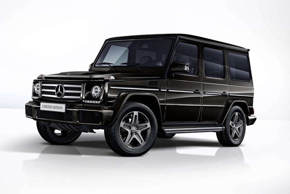 mercedes classe g nouvelles ditions limit es actualit automobile motorlegend. Black Bedroom Furniture Sets. Home Design Ideas