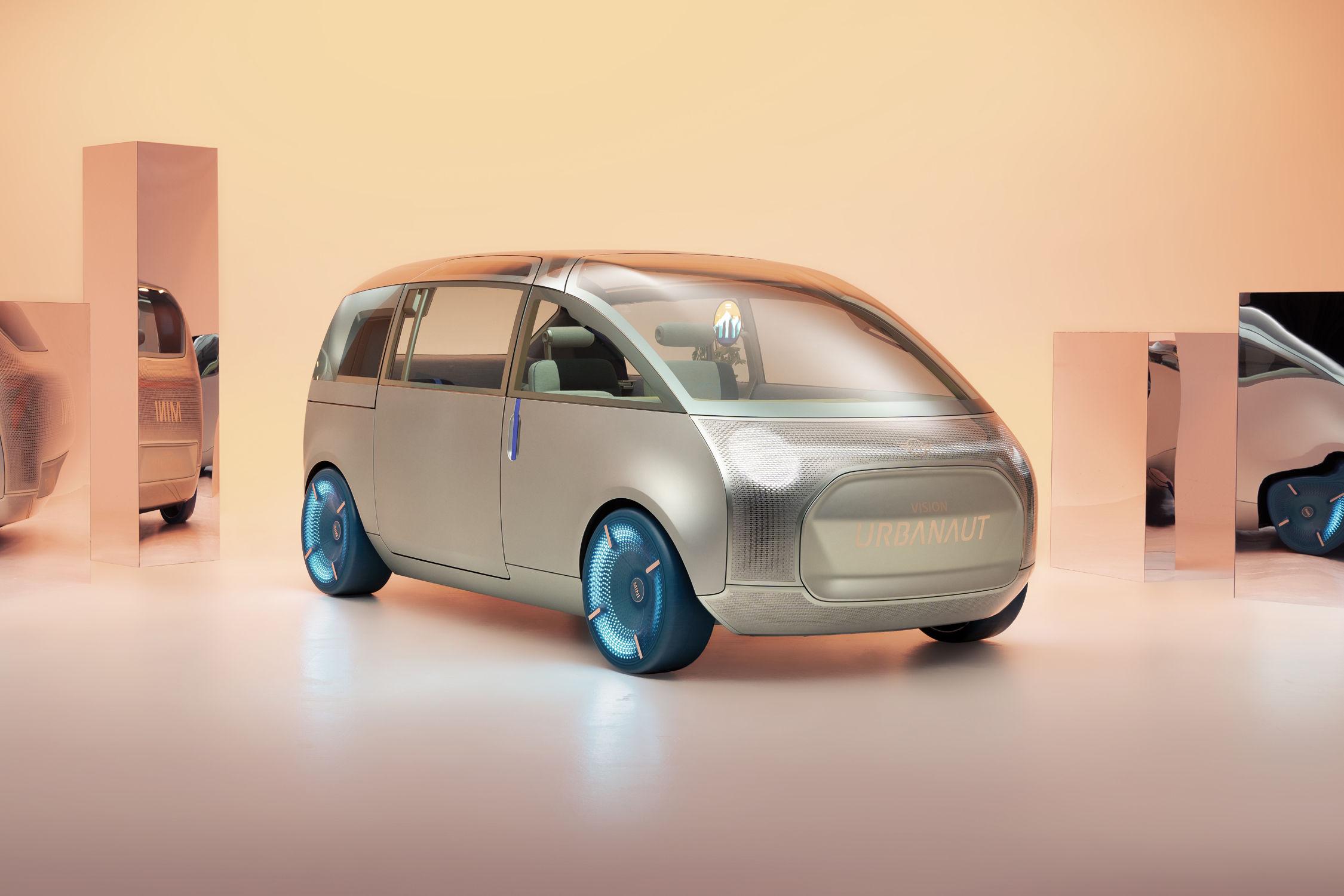 Le concept MINI Vision Urbanaut prend vie - actualité automobile - Motorlegend