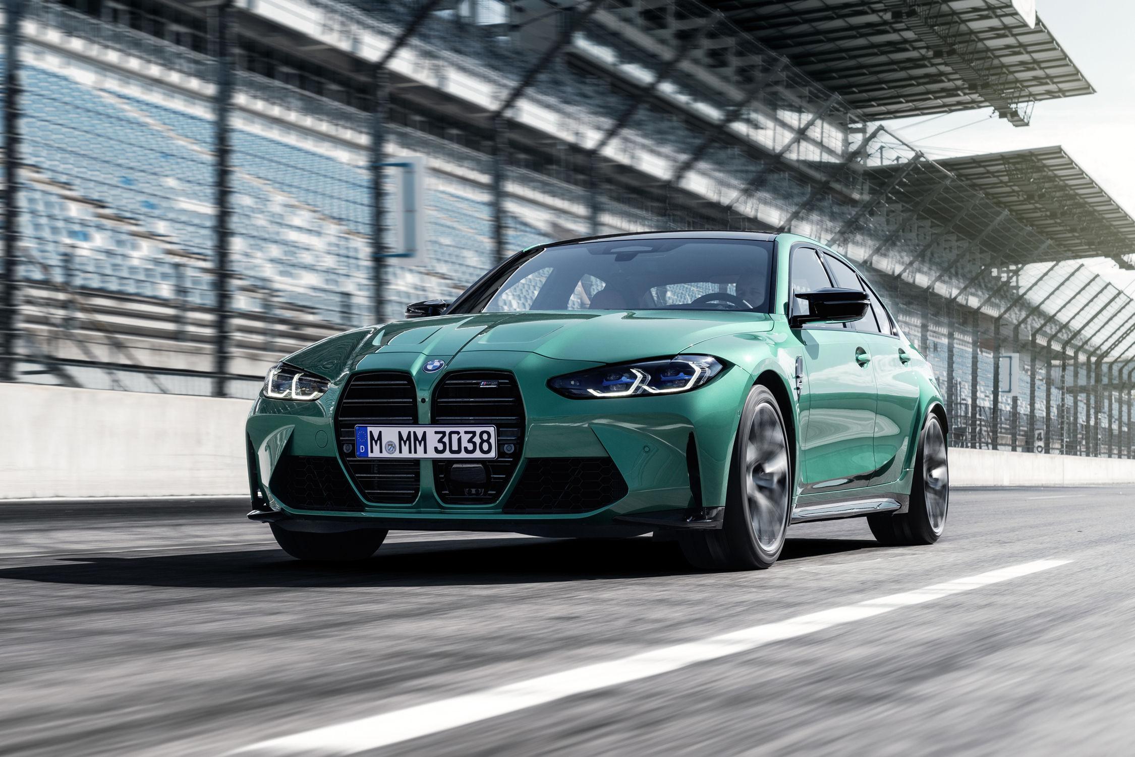 5 faits insolites sur les nouvelles BMW M3 et M4