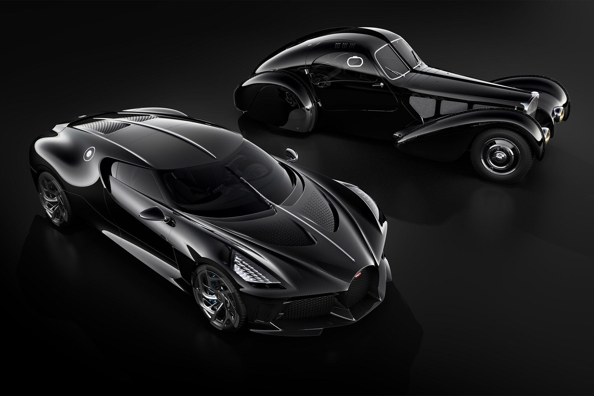 Bugatti La Voiture Noire (2019) : joyau sans éclat (Genève)