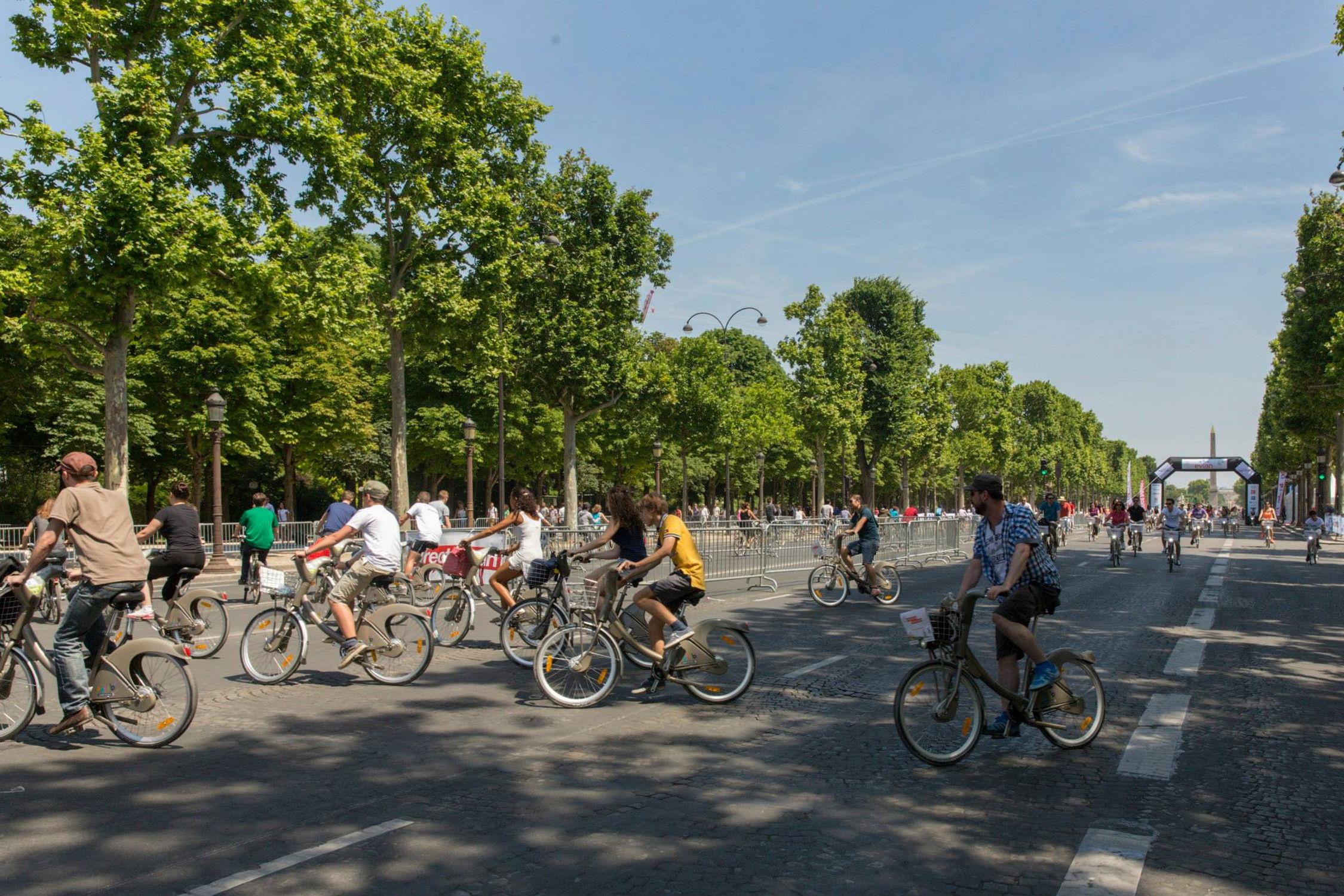 paris nouvelle journ e sans voiture le 1er octobre actualit automobile motorlegend