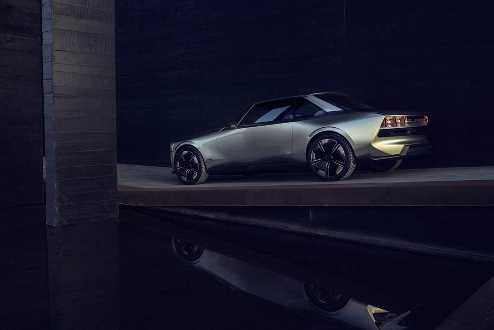 Peugeot E Legend Concept Look Neo Retro Actualite Automobile