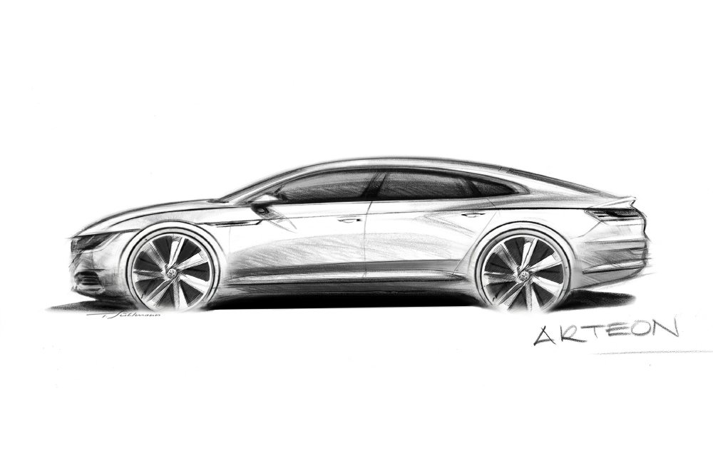 Volkswagen Arteon : mi-Passat, mi-Phaeton