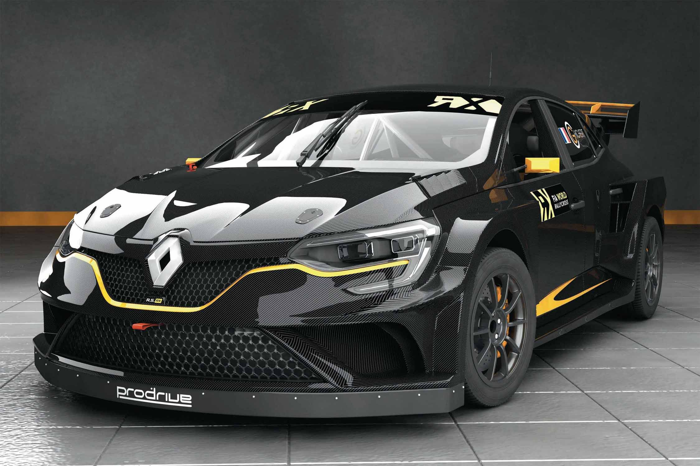 la renault megane arrivera en world rx en 2018 actualit. Black Bedroom Furniture Sets. Home Design Ideas