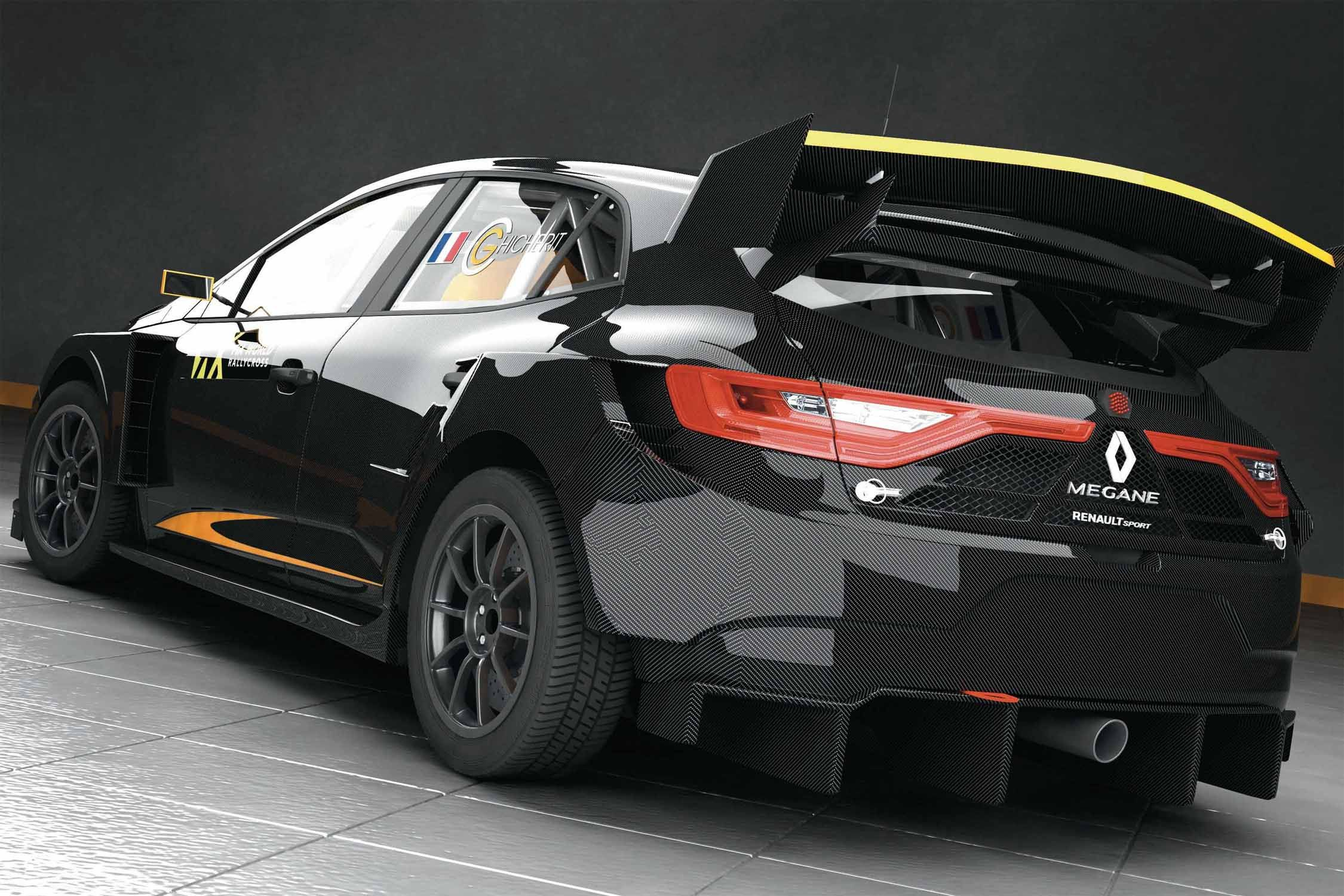 la renault megane arrivera en world rx en 2018 actualit automobile motorlegend. Black Bedroom Furniture Sets. Home Design Ideas
